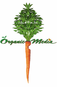 Video Production. Organic Media Logo.